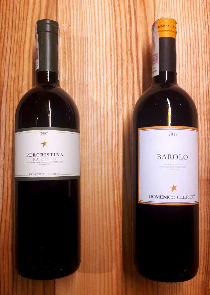Dwa roczniki wina Barolo