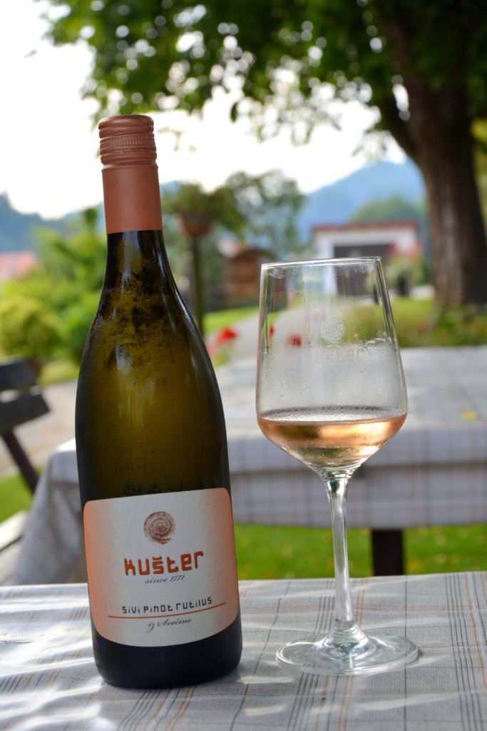 Wino Kuster, Słowenia