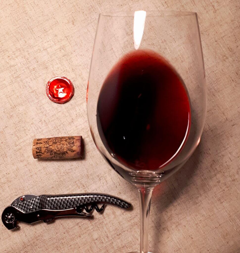 Degustacja wina priorat wino czerwone