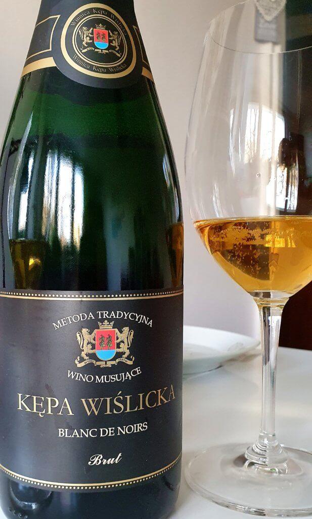 Polskie wino musujące, Kępa Wiślicka blanc de noir