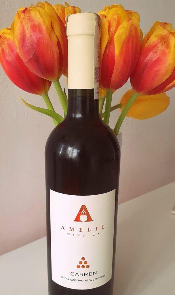 Polskie wina, winnica Amelie carmen