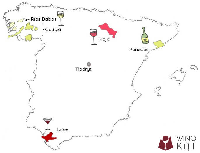 Hiszpańskie regiony winiarskie