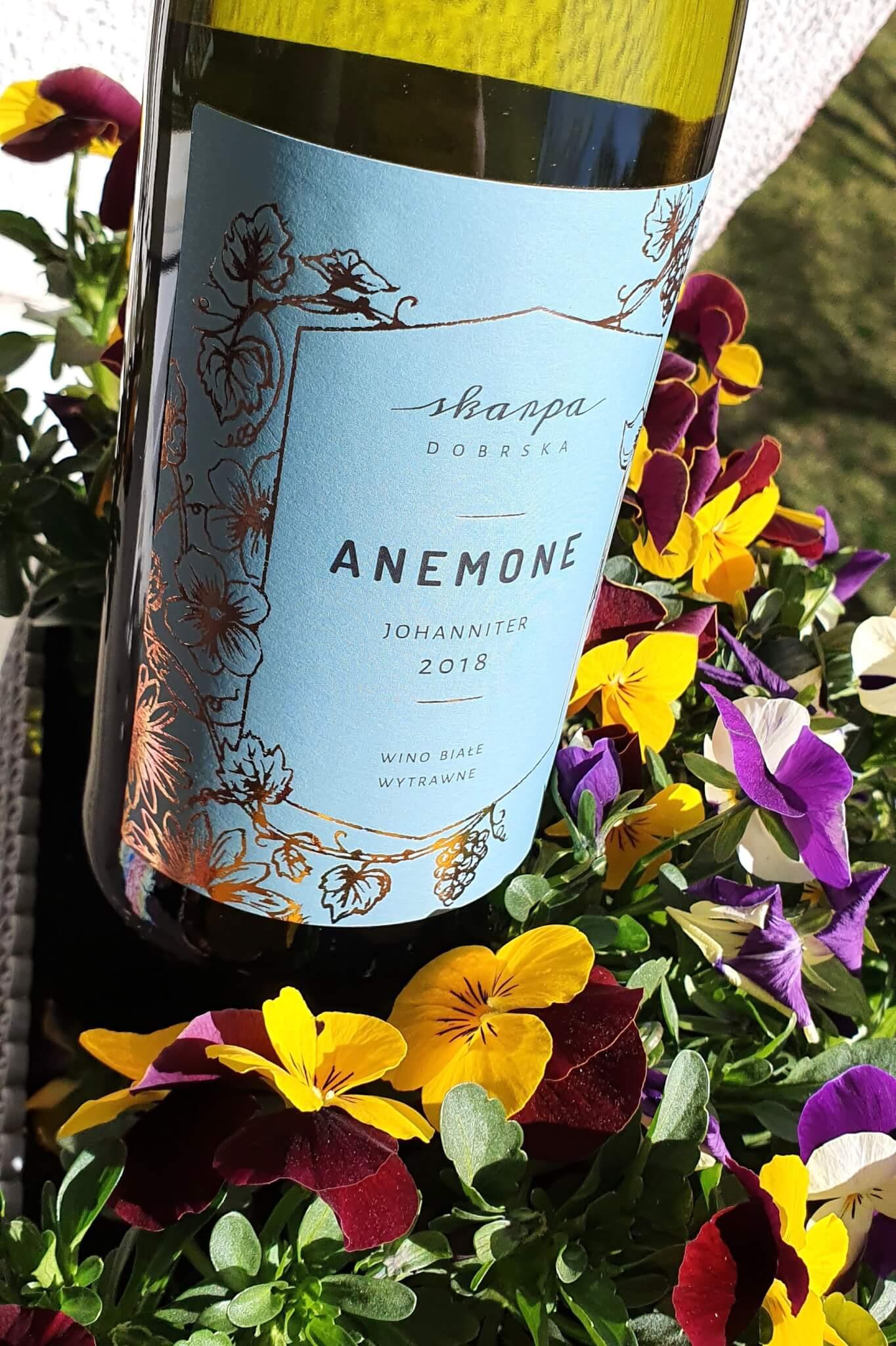 Polskie białe wina, Skarpa Dobrska anemone