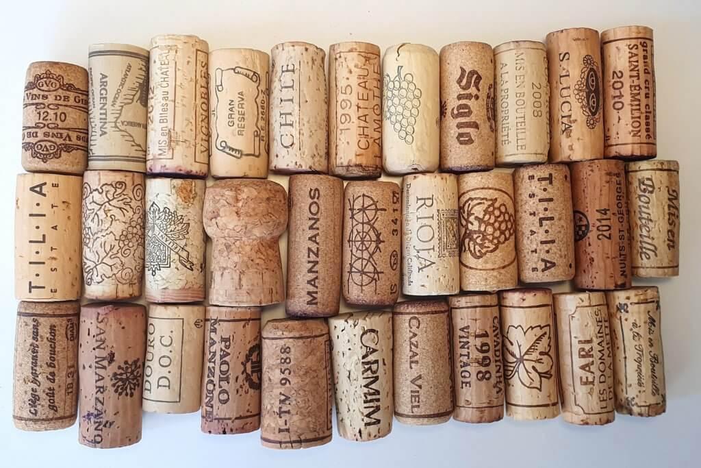 Tradycyjny korek do wina