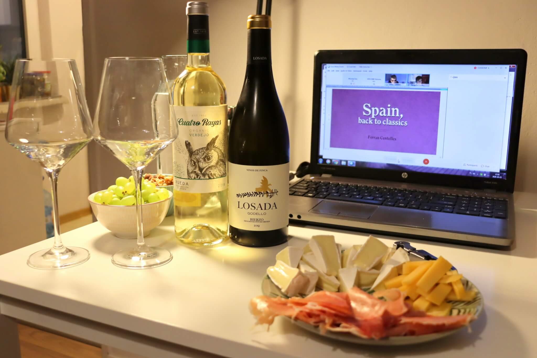 "Degustacja win hiszpańskich ""Spain, back to classics"""